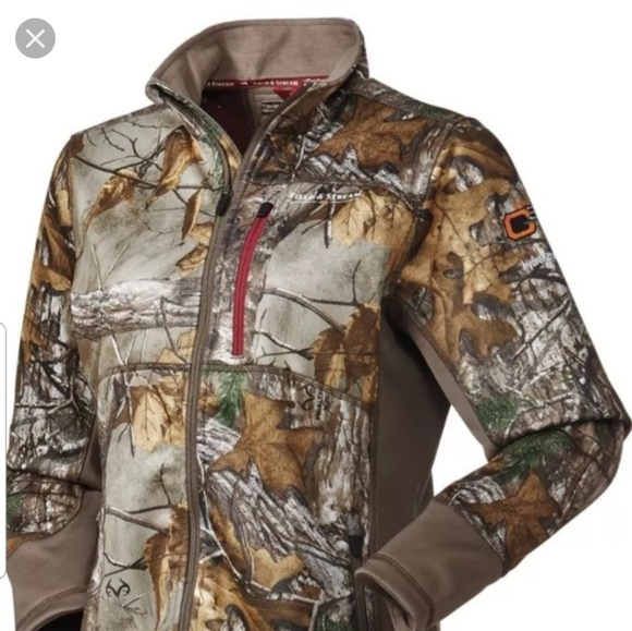 Realtree Jackets & Blazers - NEW Realtree softshell full zip - SCENTBLOCK